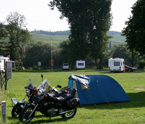 Camping in Wurzburg Duitsland